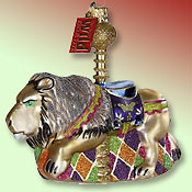 Carousel lion ornament