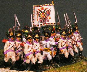 Austrian grenadiers AB miniatures