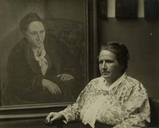 Картина портрет милы написана в