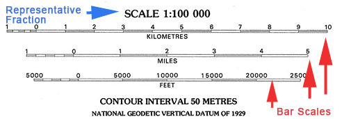 PPT - Fields, Isolines, Gradients and Topographic Maps ... |Contour Interval Ratio