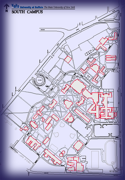 UB FPD Maps - Ub north campus map